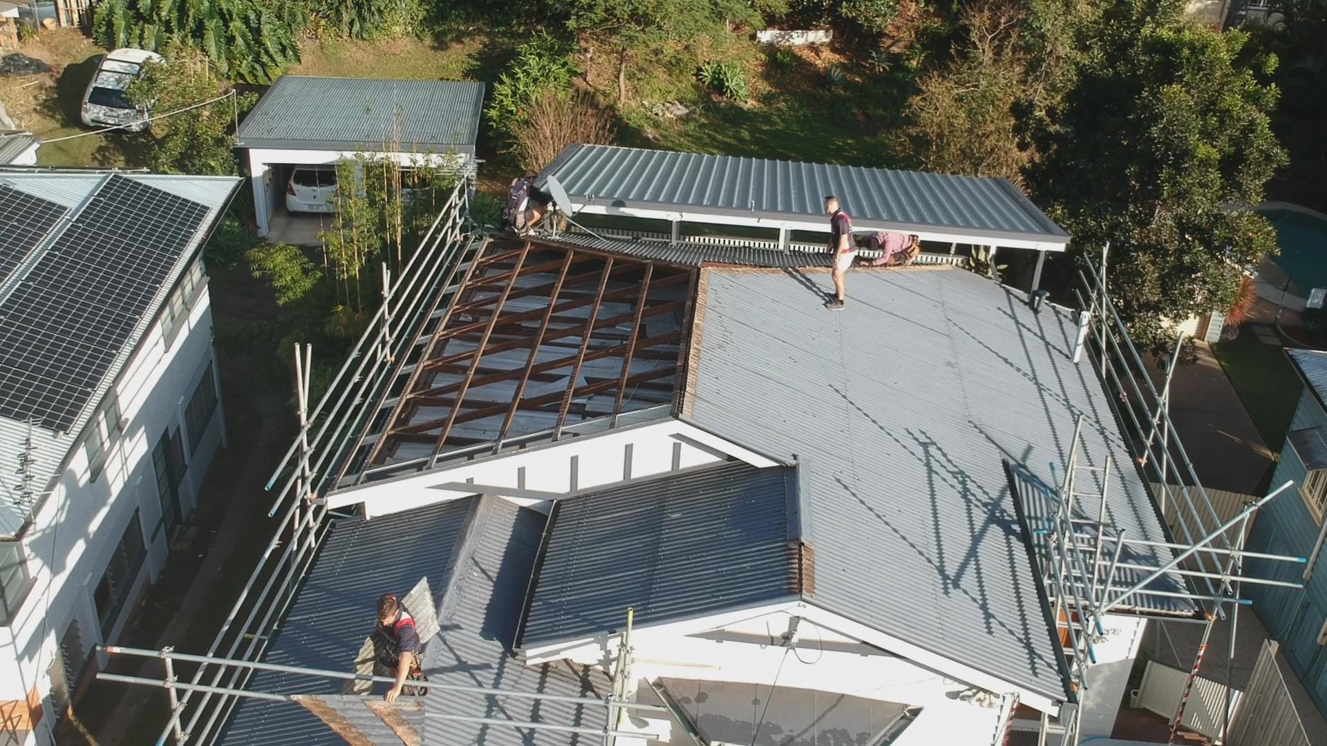 Metal Roofing Bardon Metal Roof Installation Brisbane
